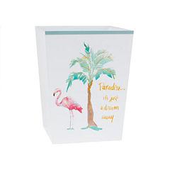Saturday Knight Flamingo Fever Wastebasket