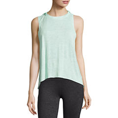 Xersion Knit Hooded Tank Top