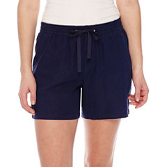 St. John's Bay Pull-On Shorts