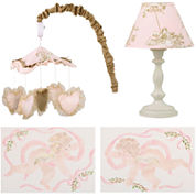 Cotton Tale Lollipops & Roses 4-pc. Décor Kit