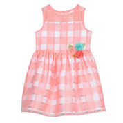 Marmellata Sleeveless Party Dress - Preschool Girls