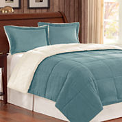 Corduroy/Berber Comforter Mini Set