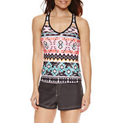 ZeroXposur® Geometric Tankini or Board Short