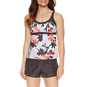 ZeroXposur® Floral Tankini or Board Short