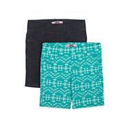 Lee Classic Fit Knit Bermuda Shorts - Big Kid Girls Juniors Plus