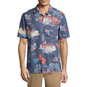 St. John's Bay Havana Button-Front Shirt