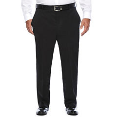 Stafford Travel Stretch Flat Front Pants-Big and Tall