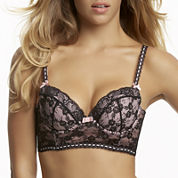 Jezebel Boudoir Lace Longline Contour Bra