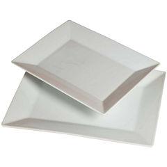 Denmark® 2-pc. Rectangular Porcelain Platter Set