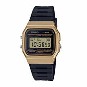 Casio Mens Black Strap Watch-F91wm-9a