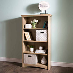 Artwork 4-Shelf Bookcase
