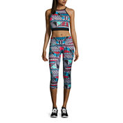 Xersion™ Print Midi Sports Bra or Print Capris