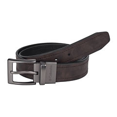 Columbia® Brown Reversible Belt w/ Logo Buckle