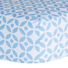 Trend Lab® Logan Lattice Fitted Crib Sheet