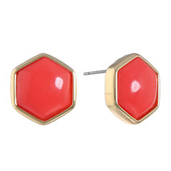 Liz Claiborne Orange Stud Earrings