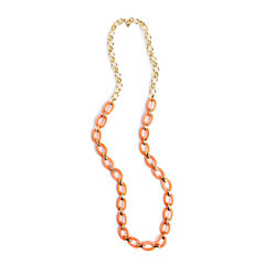 Liz Claiborne Womens 36 Inch Link Necklace
