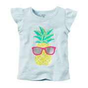 Carter's Short Sleeve T-Shirt-Baby Girls