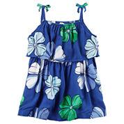 Carter's Sleeveless Dress Set - Baby Girls