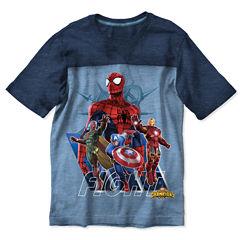 Avengers Graphic T-Shirt-Preschool Boys