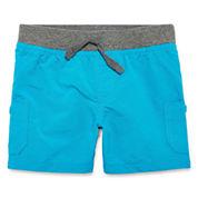 Arizona Poplin Cargo Shorts - Baby Boys
