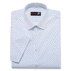 JFerrar Stretch Slim Fit Short Sleeve Dress Shirt