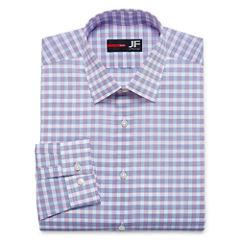 J.Ferrar Stretch Slim Fit Long Sleeve Dress Shirt