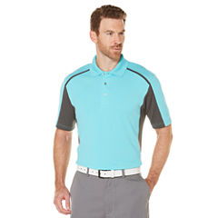 PGA TOUR Short Sleeve Mesh Polo Shirt
