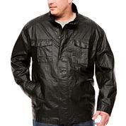Claiborne Shirt Jacket Big and Tall