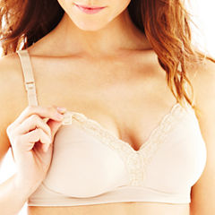 Leading Lady Lace-Trim Wireless Nursing Bra