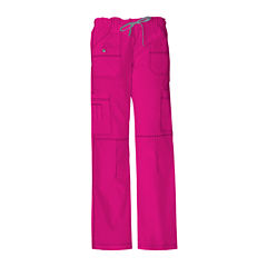 Dickies® Womens Youth Cargo Scrub Pants–Petite
