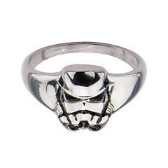 Star Wars® Stainless Steel Stormtrooper 3D Ring