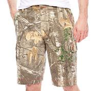 Realtree® Camo Cargo Twill Shorts