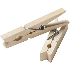 Household Essentials® 96-Pack Wood Clothespin Set