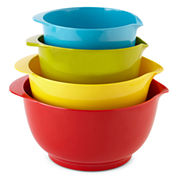 Cooks 4-pc. Nesting Batter Bowl Set