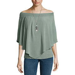 Alyx Smocked Off Shoulder Top