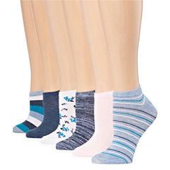 Mixit 6 Pair Low Cut Socks