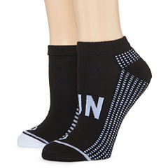 Xersion 2 Pair Inspirational  Low Cut Socks