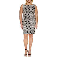 Alyx Sleeveless Sheath Dress-Plus