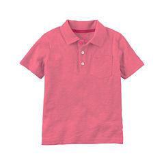 Carter's Short Sleeve Polo Shirt - Toddler Boys