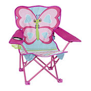 Melissa And Doug Playground Cutie Pie Butterfly Camp Chair Balls