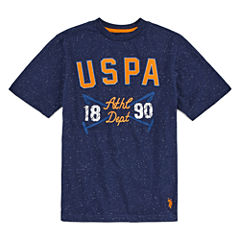 U.S. Polo Assn. Graphic T-Shirt-Big Kid Boys