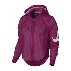 Nike Hooded Cropped Jacket