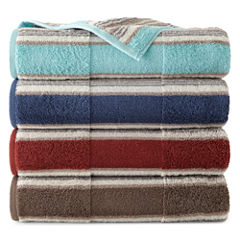 JCPenney Home™ Farmhouse Stripe Bath Towels