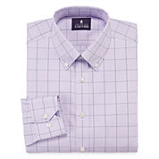 Stafford® Executive Non-Iron Cotton Pinpoint Dress Shirt