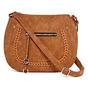 Louis Cardy Front Pocket Saddle Shoulder Bag