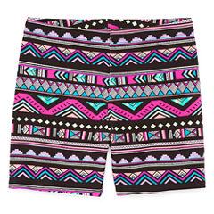 Total Girl Solid Bike Shorts - Big Kid Girls