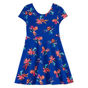 TG FLORAL SKATER- Girls 7-16 and Plus