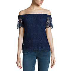 a.n.a Lace Off the Shoulder Blouse