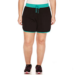 Made For Life Mesh Workout Shorts-Plus (6