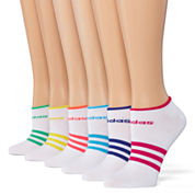 Adidas 6pk Superlite No Show Socks